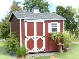 Wood Garden Workshop Classic Shed Kit by Little Cottage Co.